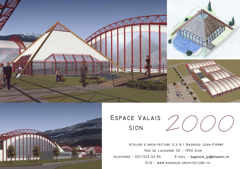 Espace valais sion atelier d architecture jean pierre bagnoud